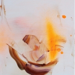 Already Gone, 2014, oil on canvas, 27 x 22 cm