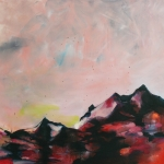 Mountains, 2010, oil on canvas, 125 x 130 cm