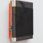 Wrapped (Landscape), 2020, acrylic, ink, canvas, wood, polyurethane, polyester, 20 x 15 x 5 cm