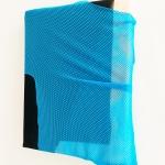 2020, acrylic, ink, canvas, soft cell, polyester, polyurethane, 27 x 24 cm